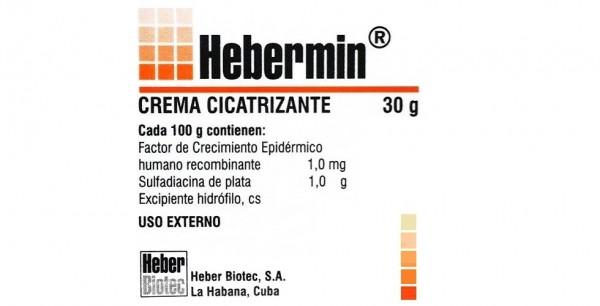 Эбермин мазь для наружного применения