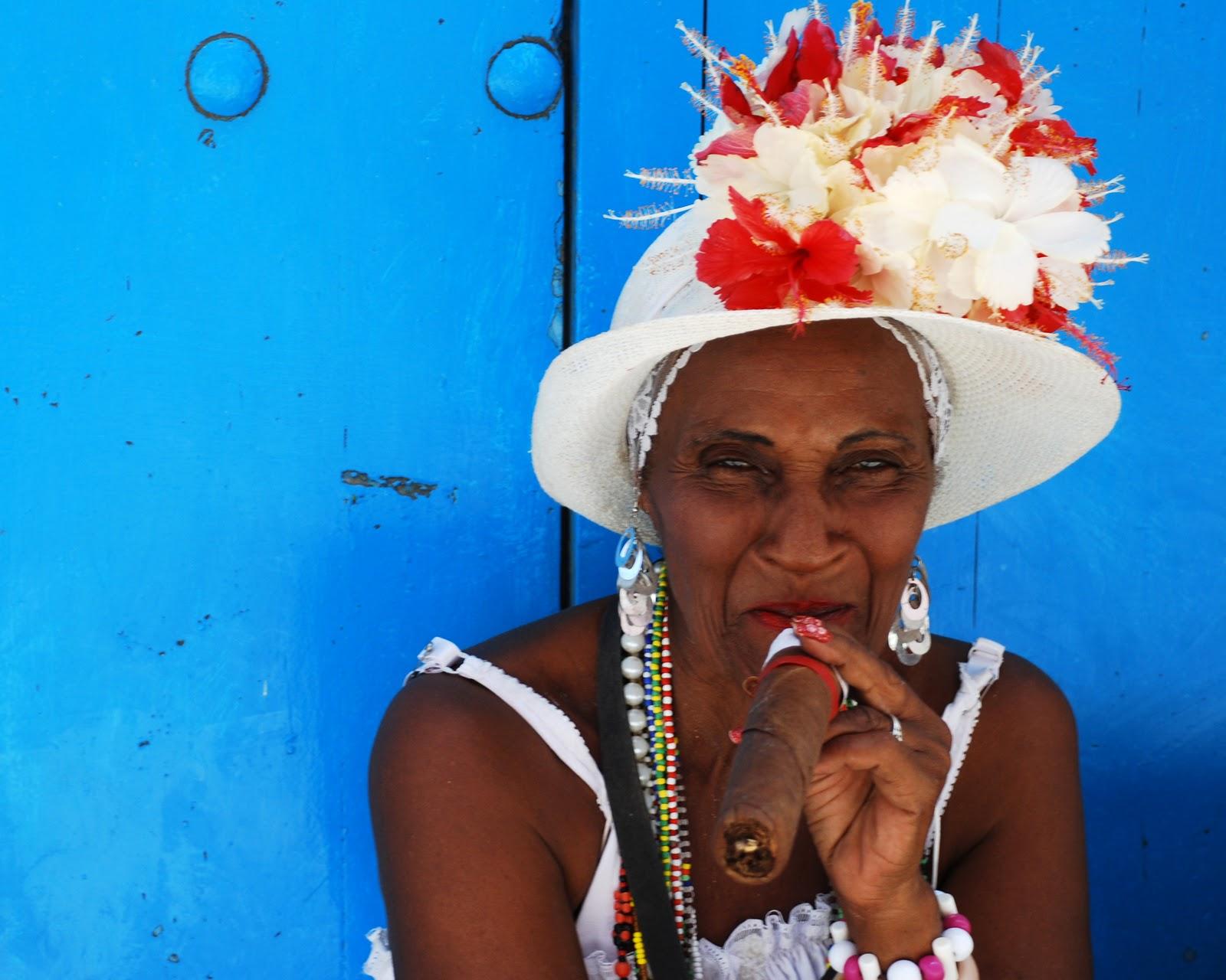 Куба фото с надписью и сигарой