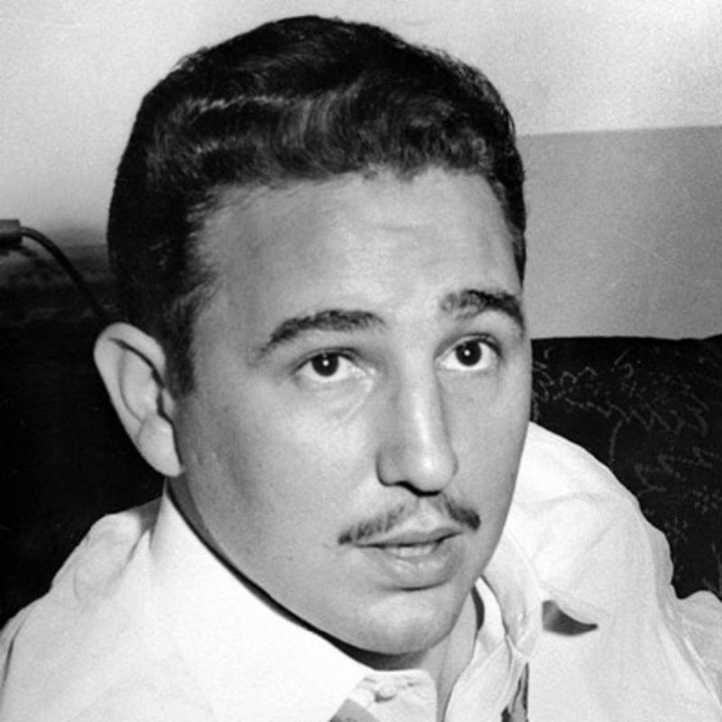 Фидель Кастро молодость